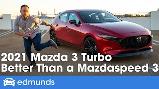 2021 Mazda 3 Turbo Review | Why It's Better Than a Mazdaspeed 3 | Interior, Price & More