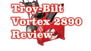 Vortex 2890 Snow Thrower Troy-Bilt - Review