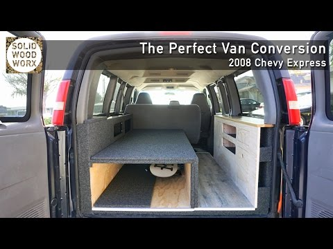 Perfect Van Covnersion with collapable bed and kitchen area!