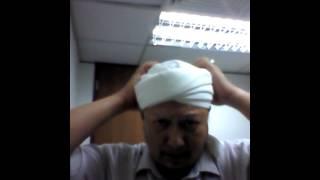 Tying simple imamah