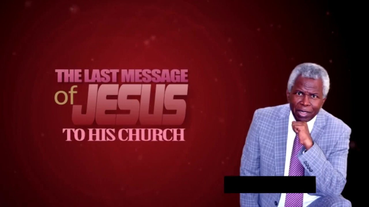 LAST MESSAGE OF JESUS 10: M.R. POPOOLA