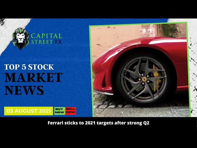 Top 5 Financial Market News Today | 03 August 2021