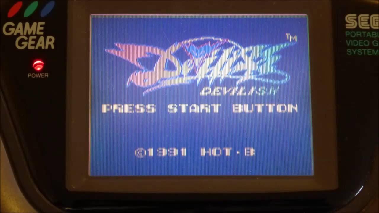 Devilish – complete video game soundtrack (Sega Game Gear, 1991)
