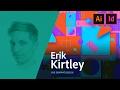Graphic Design - Erik Kirtley rebrands a label for a beer bottle