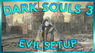 Dark Souls 3 Sorcerer Lets Play | SET EM UP | Episode 4 (PC Gameplay)