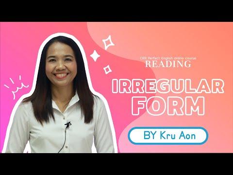 Grammar 9.3 Subject and Verb Agreement (Irregular I) By Kru Aon