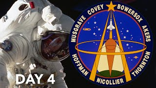 STS 61 Mission Highlights Day 4 Hubble Space Telescope