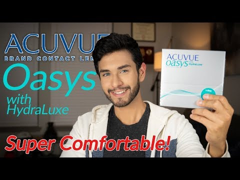 Acuvue Oasys With HydraLuxe | Review