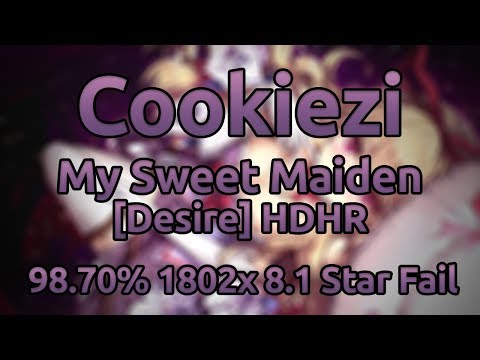 Cookiezi  Mia REGINA  R3  Box - My Sweet Maiden Desire HR 9870% 18022091x ★81 Fail