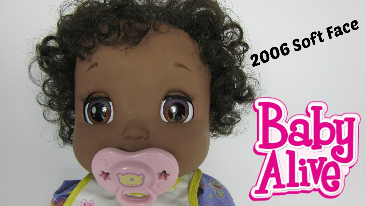 Baby Alive 2006 Soft Face Doll Details Video By Baby