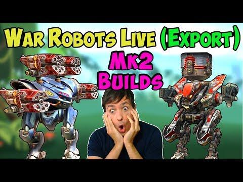 War Robots Live 3 Hours Mixed Spectre & Strider Mk2 Builds Gameplay WR