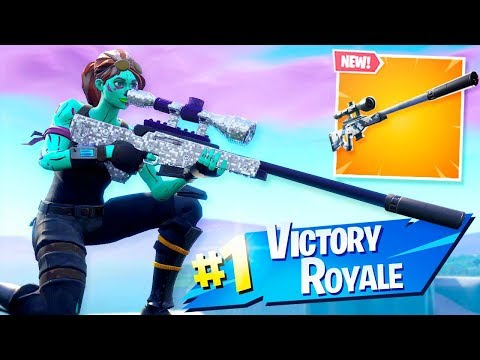 *NEW* SILENT SNIPER IS AMAZING in Fortnite..
