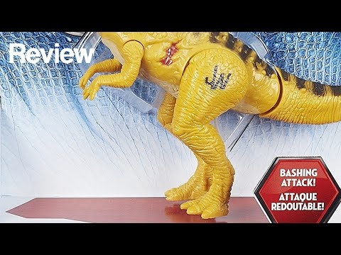 Jurassic World Bashers & Biters Pachycephalosaurus Figure Review