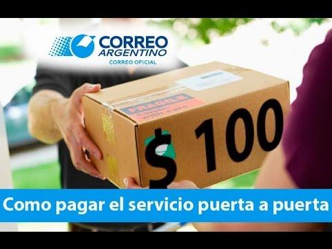 Pagar a correo argentino el servicio puerta a puerta youtube for Correo puerta a puerta