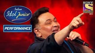 Vishal And Salim Dedicate 'Dard-E-Dil' To Rishi Kapoor   Indian Idol Junior 2