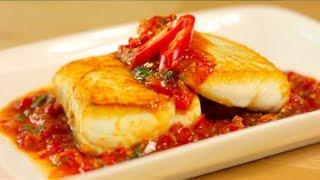 Sweet Chili Halibut Recipe ปลาราดพรก (Pla Raad Prik) - Hot Thai Kitchen