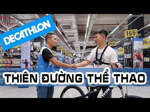 Lạc vào xứ sở thể thao Decathlon Aeon Mall Tân Phú | Quá rộng, quá đã, đủ hết các thể loại