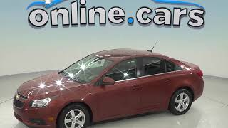 R98387JA Used 2013 Chevrolet Cruze 1LT FWD 4D Sedan Bronze Test Drive, Review, For Sale