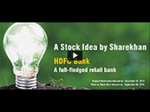 Sharekhan Stock Idea: HDFC Bank