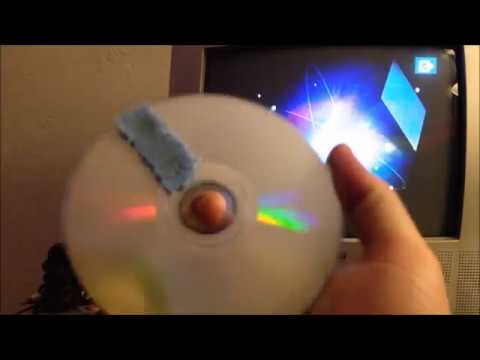 Homemade Lens-Cleaning DVD (Experiment)