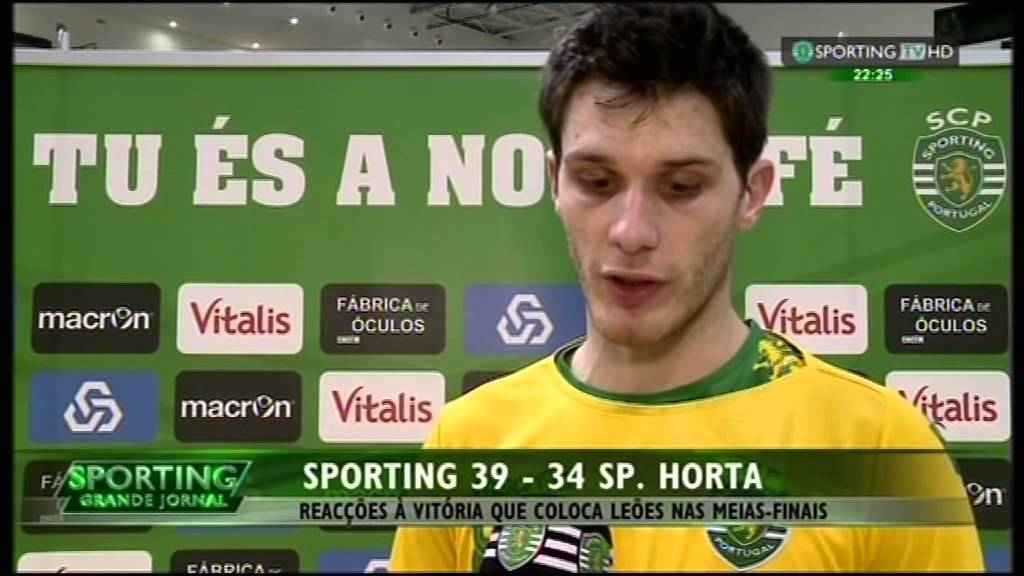 Andebol :: Play-off 1/4 Final 2Jogo :: Sporting - 39 x SC Horta - 34 de 2014/2015