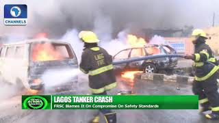 FRSC Insists On Zero Tolerance After Lagos Tanker Crash |News Across Nigeria|