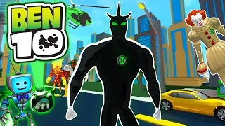 Ben 10 ALIEN X the STRONGEST Alien in Roblox Arrival of Aliens vs Pennywise IT Clown Awesome upgrade