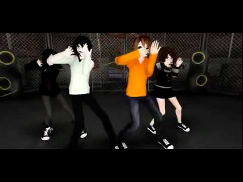 Mmd Jeff The Killer Masky Mich Chris Criminal Youtube
