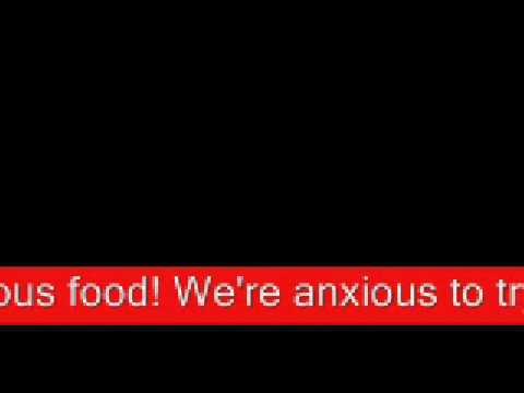 Oliver! - Food Glorious Food - On Screen Lyrics