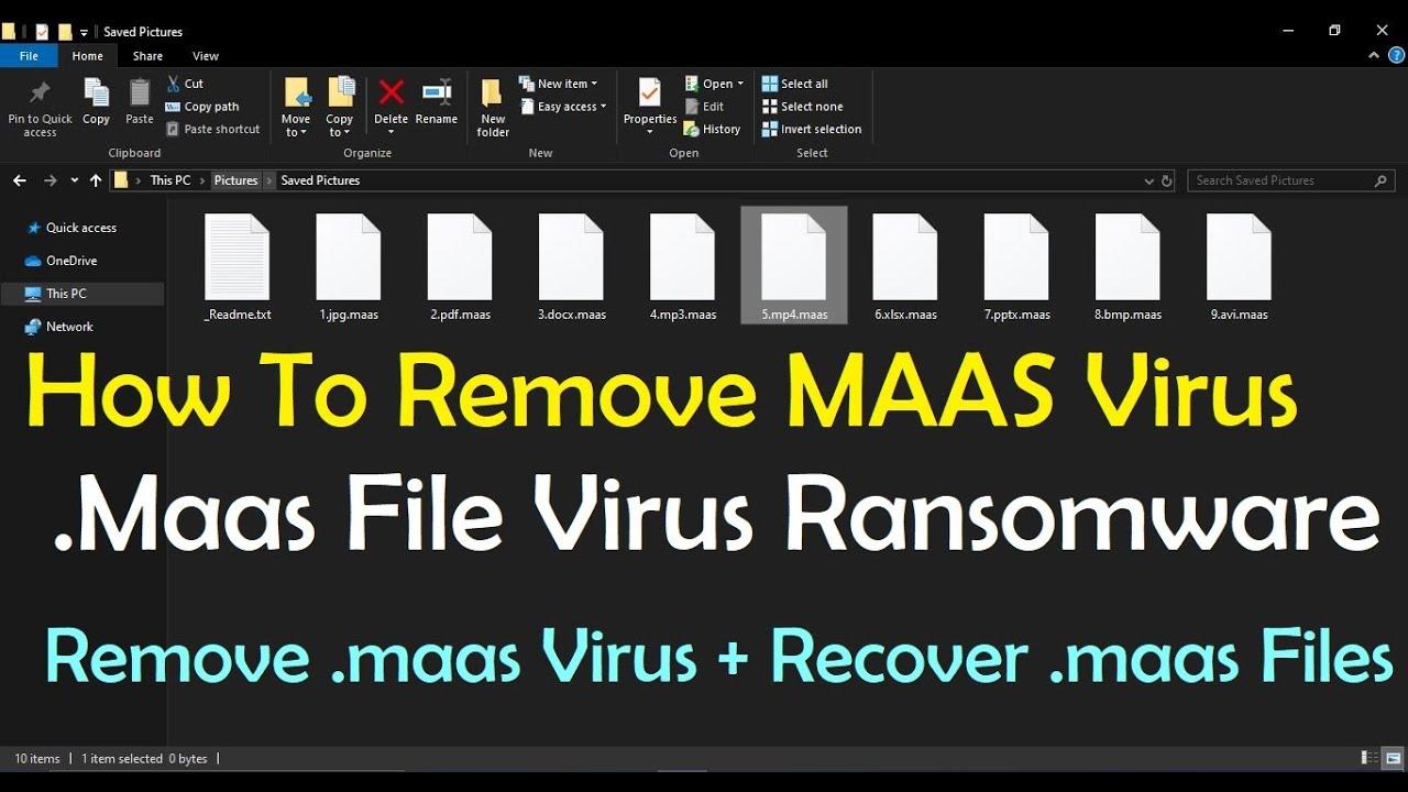 Remove .Maas File Virus Ransomware (+Recover .Maas Files)