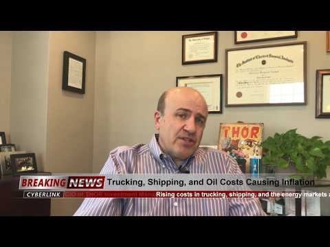 Inflation Being Caused by Trucking, Shipping, and Energy