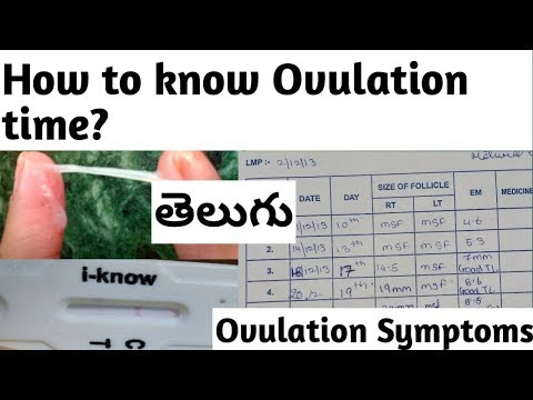 Telugu How to know Ovulation period? | Ovulation symptoms