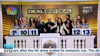 "Howie Mandel, Host and Executive Producer, ""Deal or No Deal"", CNBC, rings the NYSE Opening Bell."