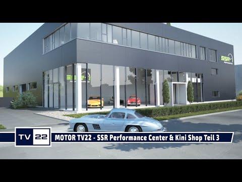 MOTOR TV22: Weltweit einzigartiges SSR Performance Center & Kini Shop Wiesing Teil 3