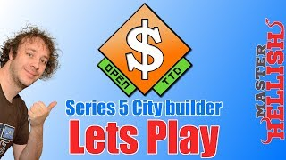 OpenTTD City Builder Lets Play S5 E1 - Claiming HellishVille
