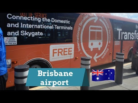 How to transfer terminals at Brisbane airport | BNE international to domestic
