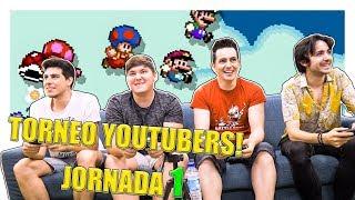 TORNEO YOUTUBERS. Nintendo Switch: SUPER MARIO MAKER 2 (Jornada 1)