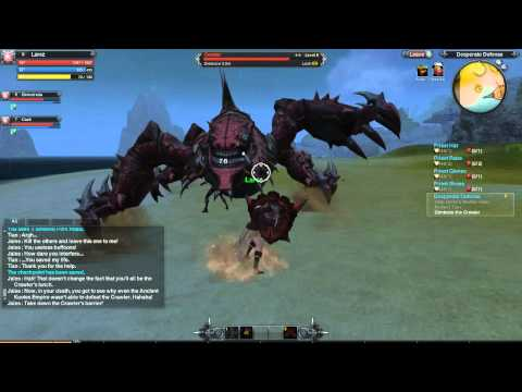 Let's Play RaiderZ (Beta) #2 - Final (Newbie) Quest vs The Crawler