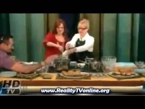 Ree Drummond cook on Bonnie Hunt   10262009