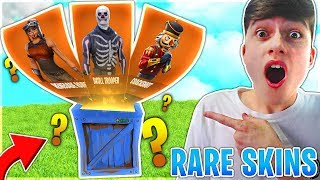 I Opened A Rare Skin Mystery Box in Fortnite Battle Royale!