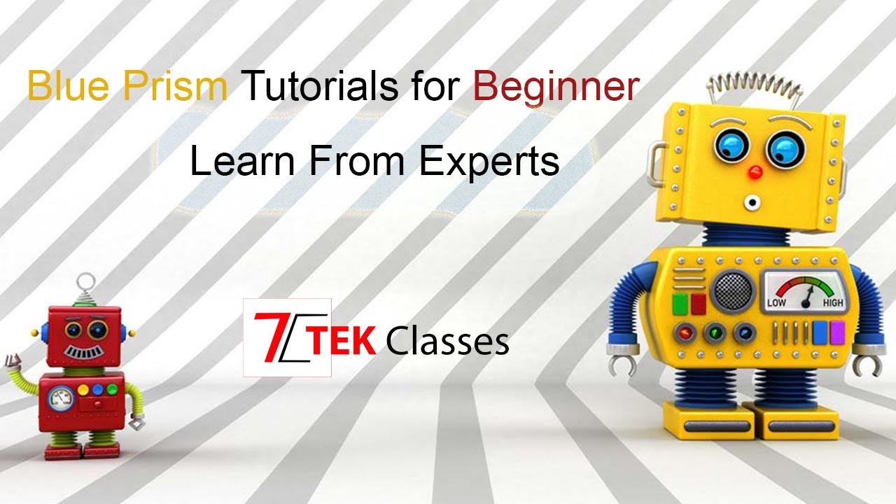 RPA Training | RPA Tutorial | What is Robotic Process Automation |  Tekclasses