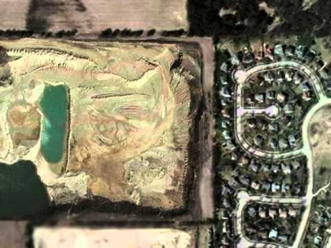 Cary, Illinois:  A Gravel Pit Community?