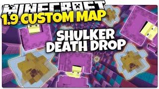 Minecraft 1.9 | SHULKER DEATH DROP! | Intense Gravity Climber (Minecraft 1.9 Snapshot Custom Map)