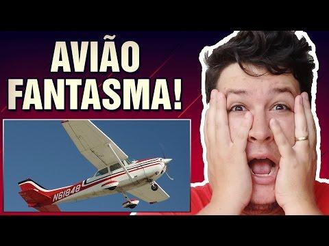 """Avião """"Fantasma"""" Caiu no Canadá e não Existe Vestígios dos Tripulantes!  (#120 Minuto Assombrado)"""