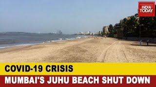 Coronavirus Crisis: Uddhav Govt Takes Precautionary Measures; Mumbai's Juhu Beach Shut Down