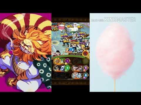 OPTC - Resteraunt Le Crap (Cotton Candy Island) 40 Stamina (~2:57) 2x Legend Nekomamushi Team