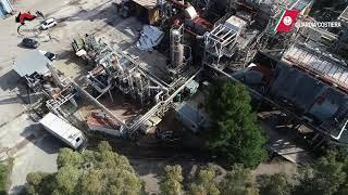 Gioia, sequestro dell'impianto Isotherm per emissione di aria nociva