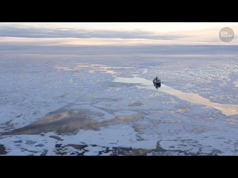Record amount of plastic waste discovered in Arctic sea ice