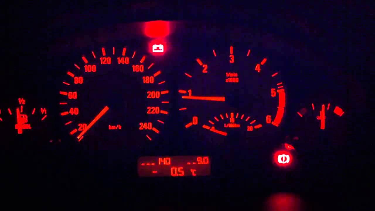 BMW E46 320d, Ladekontrollleuchte bleibt an nach ...