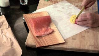 Oven-roasted Cedar Plank Salmon : Delectable Dishes